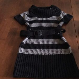 Other - Adorable sweater dress with cowl neck